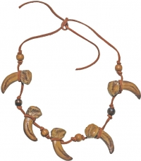 """Halskette mit Zähnen """"Conan"""" (mieten)"""