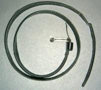 Gürtel Leder schwarz (mieten)
