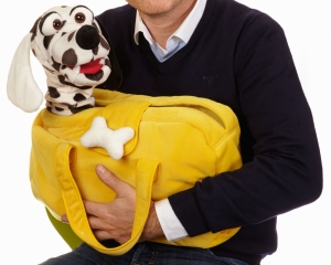 Hund Schulze in Tasche Handpuppe (kaufen)