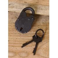 Vorhängeschloss mit Schlüsseln (kaufen)