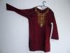 Orienthemd dunkelrot (mieten)