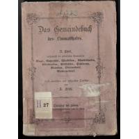 Das Gemeindebuch des Limmatthales II. Theil  (kaufen)