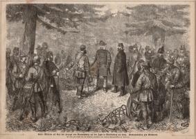 Stich Kaiser Wilhelm auf der Jagd (kaufen)