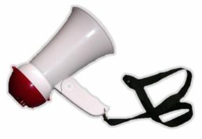 Megaphon klein (mieten)