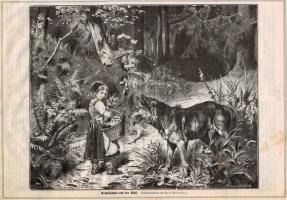 Stich Rothkäppchen und der Wolf (kaufen)