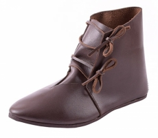 hohe Schnürschuhe dunkelbraun (kaufen)