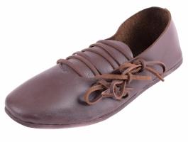 flache Schnürschuhe Spätmittelalter (kaufen)