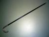 Stock schwarz/Metall (mieten)