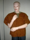 Kleid braun kurz (mieten)
