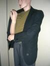 Jacket schwarz Kind (mieten)