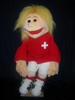 Fussballer Schweiz Handpuppe (kaufen)