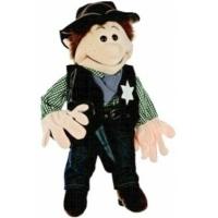 Cowboy Sheriff Handpuppe (kaufen)