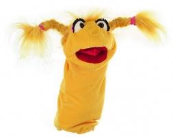 Frl. Schnatterschnute Handpuppe (gelb) (kaufen)